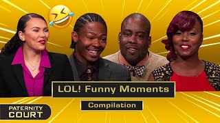 LOL! Funny Moments On Paternity Court (Compilation)   Paternity Court