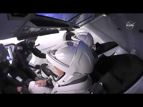 Strapped In And Ready To Ride: NASA Astronauts Ready To Take Off On SpaceX Crew Dragon