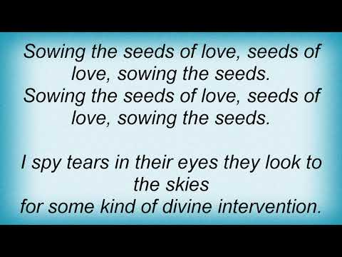 Tears For Fears - Sowing The Seeds Of Love Lyrics