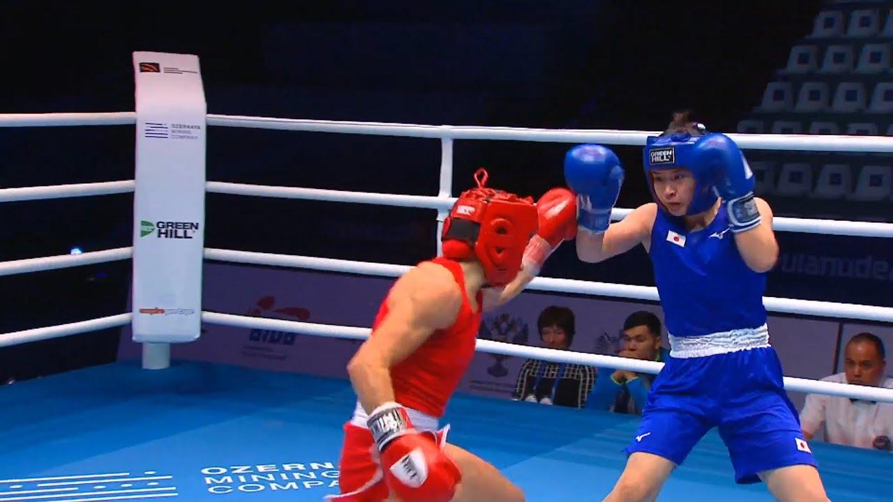 R16 (W51kg) RADOVANOVIC Nina (SRB) vs NAMIKI Tsukimi (JPN) /AIBA WWCHs Ulan Ude 2019