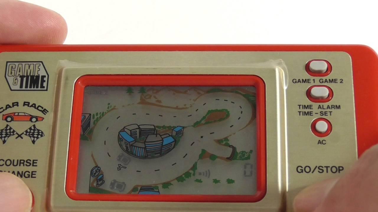 Handheld Race Car Game S