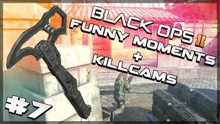 Black Ops 2 Funny Moments and Killcams 7 - Trickshots, Bomb Spots, Fun with Friends and More!