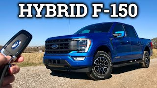 All-New 2021 Ford F-150 PowerBoost HYBRID Drive & Review