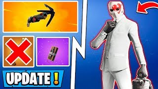 *BIG* Fortnite 5.4 Update! | Wild Card Skin, Map Change, New Item!