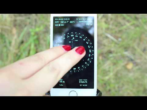 Commander Compass – how to use the sun, moon and stars for precise navigation (iPhone, iPad, iOS)