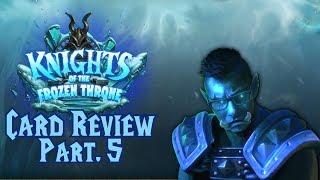Hearthstone - Knights of the Frozen Throne - Card Review Part. 5 - (German/Deutsch)