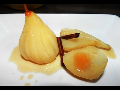 How to make Poached Pears