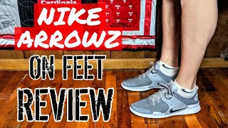 Nike Arrowz On Feet Review