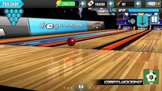 PBA Bowling Challenge Getting Lucky With 4 Kingpin Procs!