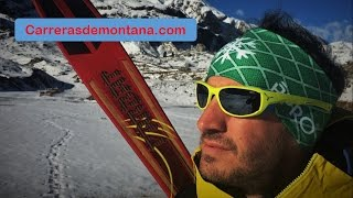 Cebe Jorasses: Gafas deportes montaña Análisis Borja Valdes para Carrerasdemontana com