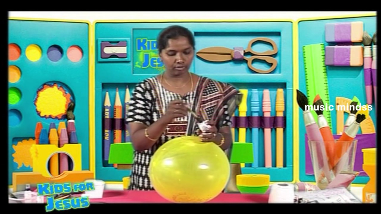 kids for jesus kutty craft to decorat home for party youtube