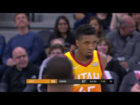 Utah Jazz vs San Antonio Spurs : December 9, 2018
