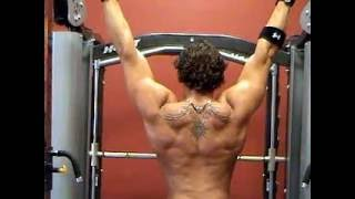 Old Justin Woltering DoggCrapp Back Workout