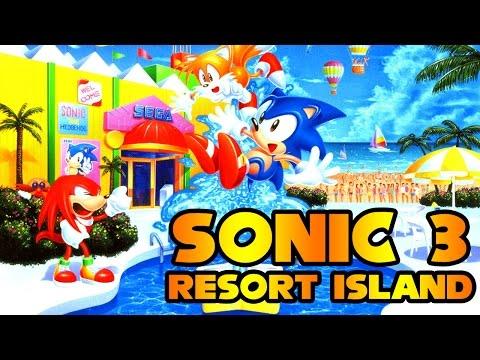 Sonic 3 Resort Island - Walkthrough
