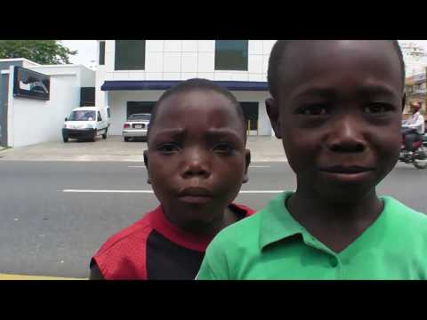Haitian beggars in Santo Domingo, Dominican Republic poverty imported from Haiti