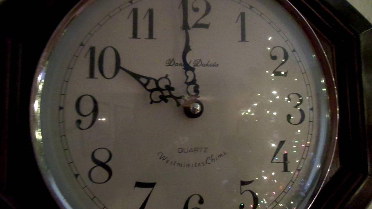 Daniel dakota wall clock 6 of quartz wall clock with chime daniel.