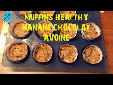 recette-muffins-healthy-banane-chocolat-avoine