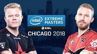 CS:GO - Astralis vs. FaZe [Inferno] Map 2 - Group A - UB r3 - IEM Chicago 2018