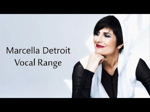 [HD] Marcella Detroit Vocal Range (A2 - B♭6)