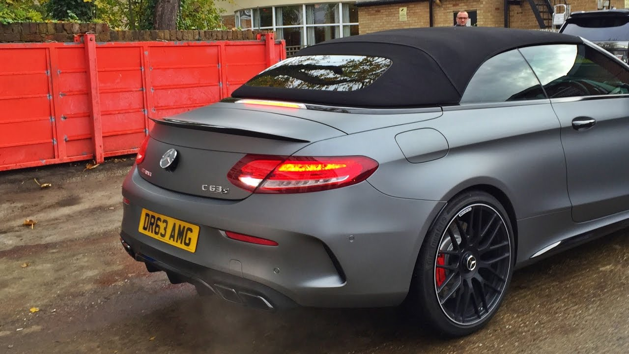 brand new mercedes amg convertible wrapped youtube