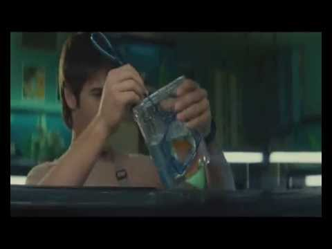 Steven R. McQueen shows his muscles (Deleted Scene from Piranha 3D)