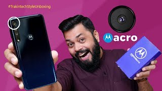 Motorola One Macro Unboxing And First Impressions ⚡ ⚡ ⚡ कमाल के फिचर्स १०००० के नीचे