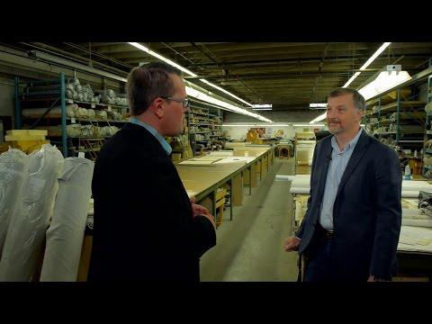 G.Romano, fabricant de meubles du Québec (segment de la 1ère émission spéciale de l'AFMQ)