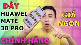 Trải nghiệm Huawei Mate 30 Pro chính hãng : Không PlayStore, giá tốt