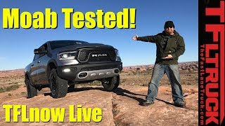 First in Moab in the New 2019 Ram Rebel! TFLnow (Almost) Live Show #14