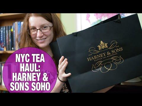 NYC Tea Haul - Harney & Sons SoHo