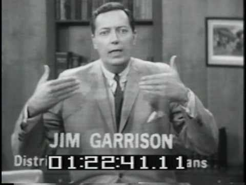 Jim Garrison Response - Kennedy Assassination