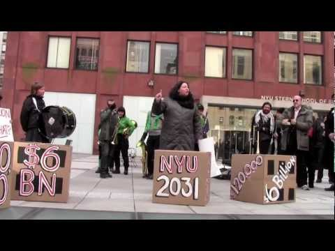 The $6 Billion Question - February 21 Protest against NYU'S Expansion