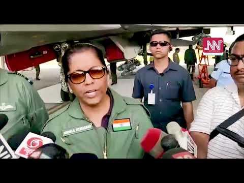 Defence Minister Sitharaman visits IAF's Chabua's air base
