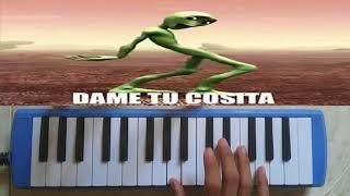 El Chombo Dame Tu Cosita Pianika Melodica cover live.mp3