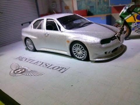 Alfa Romeu 156 GTA Fly Slot Car – personalização de pintura