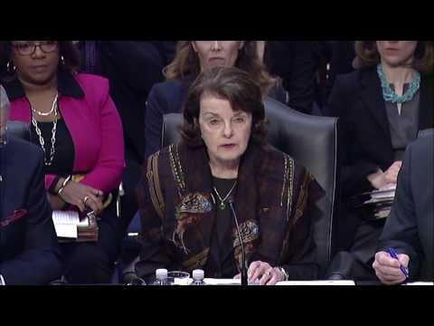 "Feinstein on Gorsuch: ""I cannot support this nomination"""