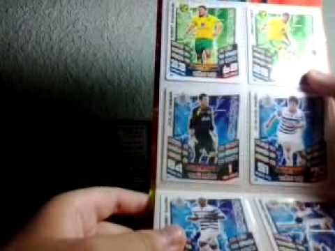 Review Match Attax 2012/2013 Vietnam set!!!:)