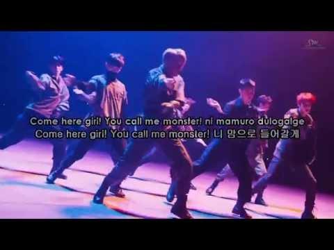 EXO-K (엑소케이) - Monster (몬스터) Karaoke