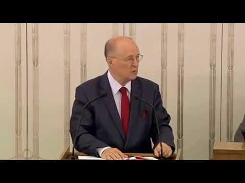 Senator prof. Michał Seweryński o ustawie o środkach przymusu bezpośredniego i broni palnej.