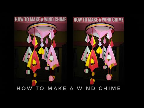 DIY wind chime //Home decorating Ideas //How to make Beautiful wind chime at Home