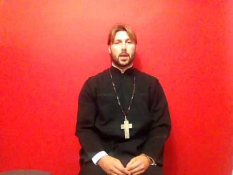 Священник Грозовский записал обращение к заказчику его дела