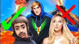 The Floor is Lava CHALLENGE with YouTubers! (VIDCON 2017) thumbnail