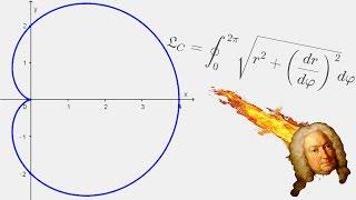 Arc Length of a Cardioid! [ Using a Polar Coordinate System ]