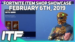 Fortnite Item Shop BATTLE HOUND IS BACK! [February 6th, 2019] (Fortnite Battle Royale)