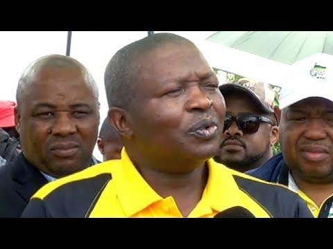 ANC Deputy Pres DD Mabuza on a campaign trail in Mpumalanga