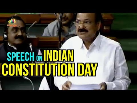 Venkaiah Naidu Speech On Indian Constitution Day | Parliament Winter Session | Mango News