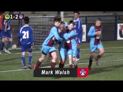 Bangor Swifts v Abbey Villa - Under 15s Third Division - 4th December 2015