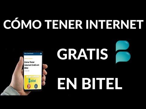 Cómo Tener Internet Gratis en Bitel