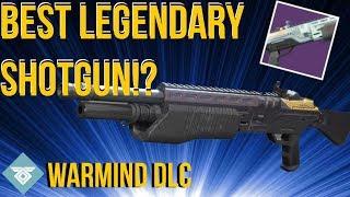 THE BEST LEGENDARY SHOTGUN!? THE BALLIGANT - WARMIND DLC - DESTINY 2