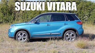 Suzuki Vitara (ENG) - Test Drive and Review